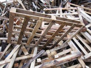Palettes bois recyclés par Crispa Palettes